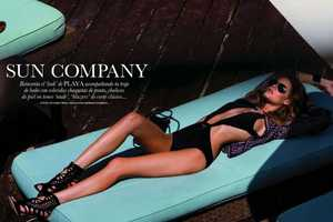 Elle Spain May 2012 Editorial Scorches with Flavia de Oliveira