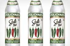 Fiery Flavored Spirits - The Stoli Hot Jalapeno Vodka is Spicing Up Classic Cocktails