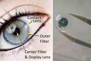 Innovega iOptik Contacts Will Let You See Multiple Images