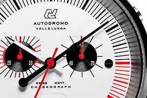 The Autodromo Vallelunga Chronograph is Minimalist and Refined