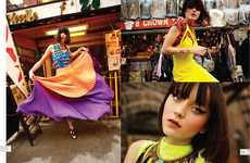 Urban Neon Fashion - The Nylon Mexico 'St. Mark's Place' Editorial Stars a Vibrant Andressa Fontana