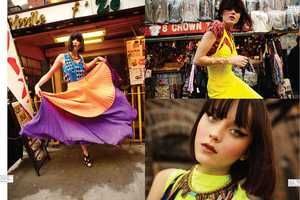 The Nylon Mexico 'St. Mark's Place' Editorial Stars a Vibrant Andressa Fontana