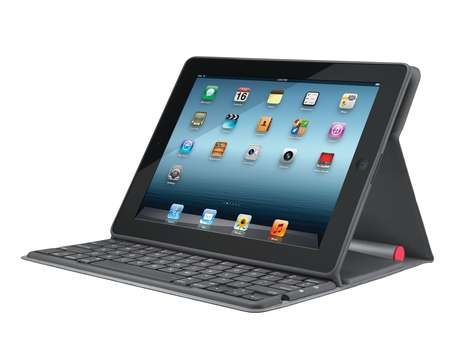 Light-Harnessing Tablet Cases - The Logitech Solar Keyboard Folio Charges Batteries Using the Sun