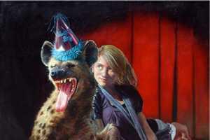 Mark Gleason Pairs Humans & Wildlife in Surreal Illustrated Scenarios