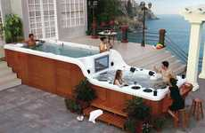 Two-Tier Hot Tubs