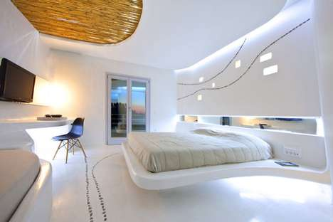 Unaligned Unconventional Lodgings - Cocoon Suites Twist to Typical Hotel Rooms