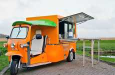 Cute Mobile Food Trucks - 'E-Tuk Vendo' by Tuk Tuk Factory Turns a Car Into a Store