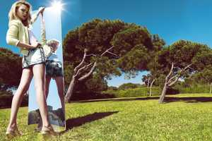 The Stradivarius Summer 2012 Campaign Stars a Vibrant Siri Tollerod
