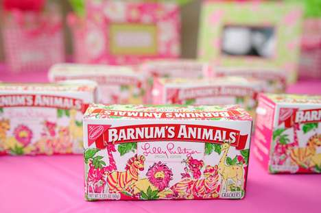 Charitable Snack Packs - Lilly Pulitzer's Animal Cracker Designs for Charity