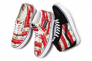 The Supreme and Vans Campbell's Soup Line is a Must Have