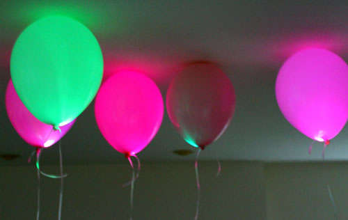 DIY LED Party Balloons