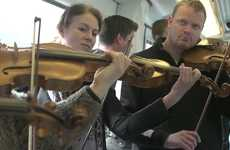 Surprise Classical Performances - Copenhagen Philharmonic Orchestra Flashmobs Subwayers