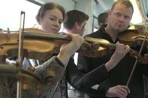 Copenhagen Philharmonic Orchestra Flashmobs Subwayers