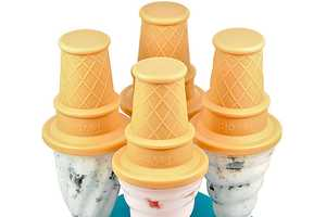 The Tovolo Ice Cream Pop Molds are Cleverly Cute