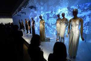 The Schiaparelli and Prada 'Impossible Conversations' Display