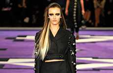 Couture Biker-Chic Ensembles - The Prada Fall Collection Rocks Out