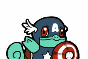 Artist Binsbilyas Mashes Comic Book Favorites with Pokemon