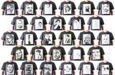 Wearable Pop Culture Portraiture