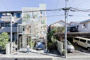The Sou Fujimoto Architects Transparent House is Chic