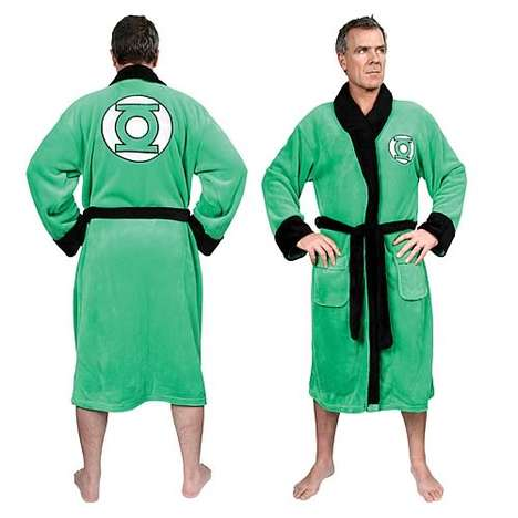 Green Lantern Cotton Bathrobe