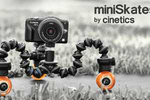 'miniSkates' by Cinetics Enable Smooth and Flawless Filming