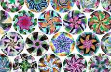 Kaleidoscopic Puzzle Art