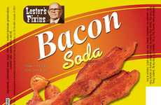 Bizarre Food-Flavored Beverages - Lester Fixin Sodas Offer Outlandish Drinks