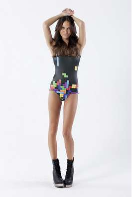 retro gamer swimsuit