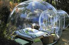 Transparent Pod Lodgings - The Attrap Reves Hotel Allows Guests to Stargaze in France