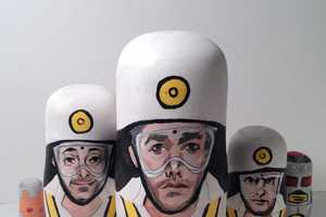 The Beastie Boys Nesting Dolls on Etsy Pay Tribute to Adam Yauch