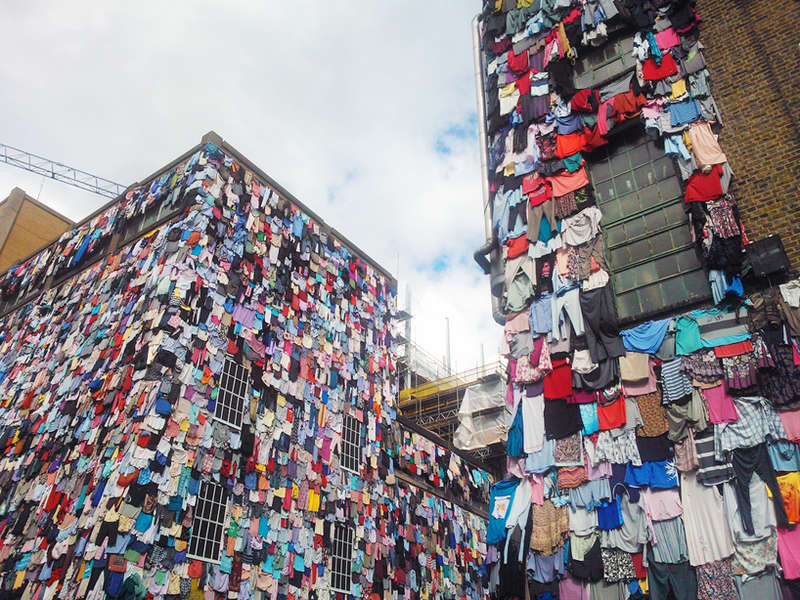 Clothing Canvased Buildings