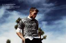 Scenic Sportswear Editorials - The Wanderers Essential Homme Photoshoot is Summer-Ready