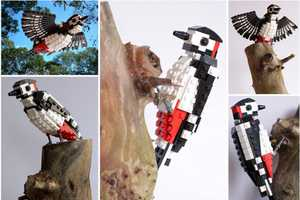 LEGO Birds by DeTomaso Pantera are Anatomically Accurate and Charming
