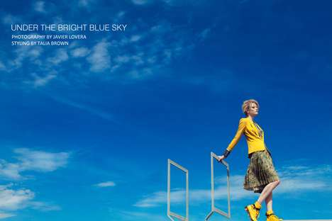 Under the Bright Blue Sky