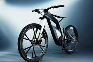 The Newest Audi E-Bike Helps Riders Do Tricks Like a Pro
