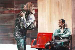Dan Voinea Paints Images of Subjects Passing Through Objects