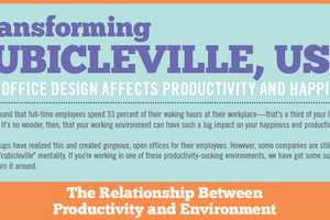 The 'Transforming Cubicleville, USA' Infographic