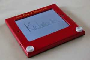 The Etcher: Etch-A-Sketch for iPad Combines Old and New Technology