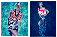 Sporty Print-Heavy Editorials