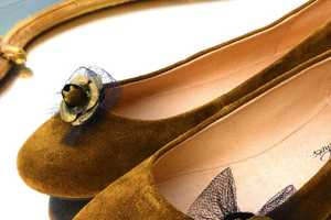 French Garden Shoes are Adnorned with Cute Customizable Clip Ons