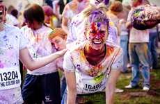 Paint-Splattered Fitness Events