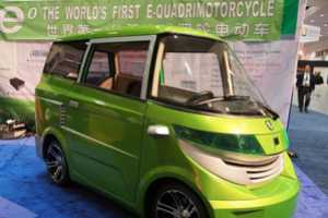The Debut of the Ample Auto EO e-Quadricycle is Exciting