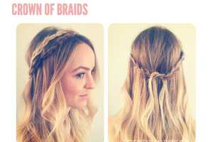 The Beauty Department 'Crown of Braids' Style is Summer Chic
