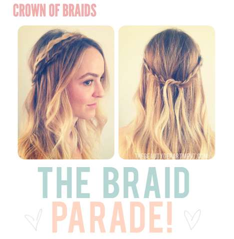 beauty department crown of braids