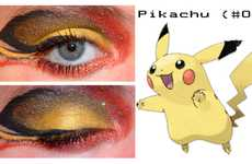 Makeup Artist Nazzara Prettifies Her Eyes Pokemon-Style