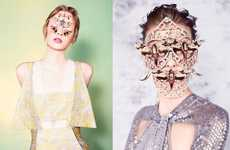 Bizarre Butterfly Beauty Looks - The Dazed & Confused Editorial Stars Elza Luijendijk