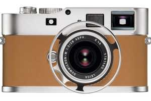 The Leica M9-P Edition Hermès Series is Beautifully Handcrafted