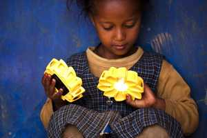 The Little Sun Solar Lamp Provides Light to Third World Countries