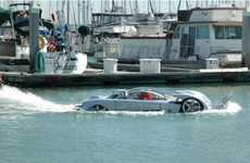 Amphibious Hyrbid Automobiles - Project Sea Lion is the Fastest Car Functioning on Land and Sea