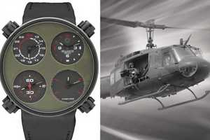 'Only One Air Huey' Watch is a Robust Time-Teller